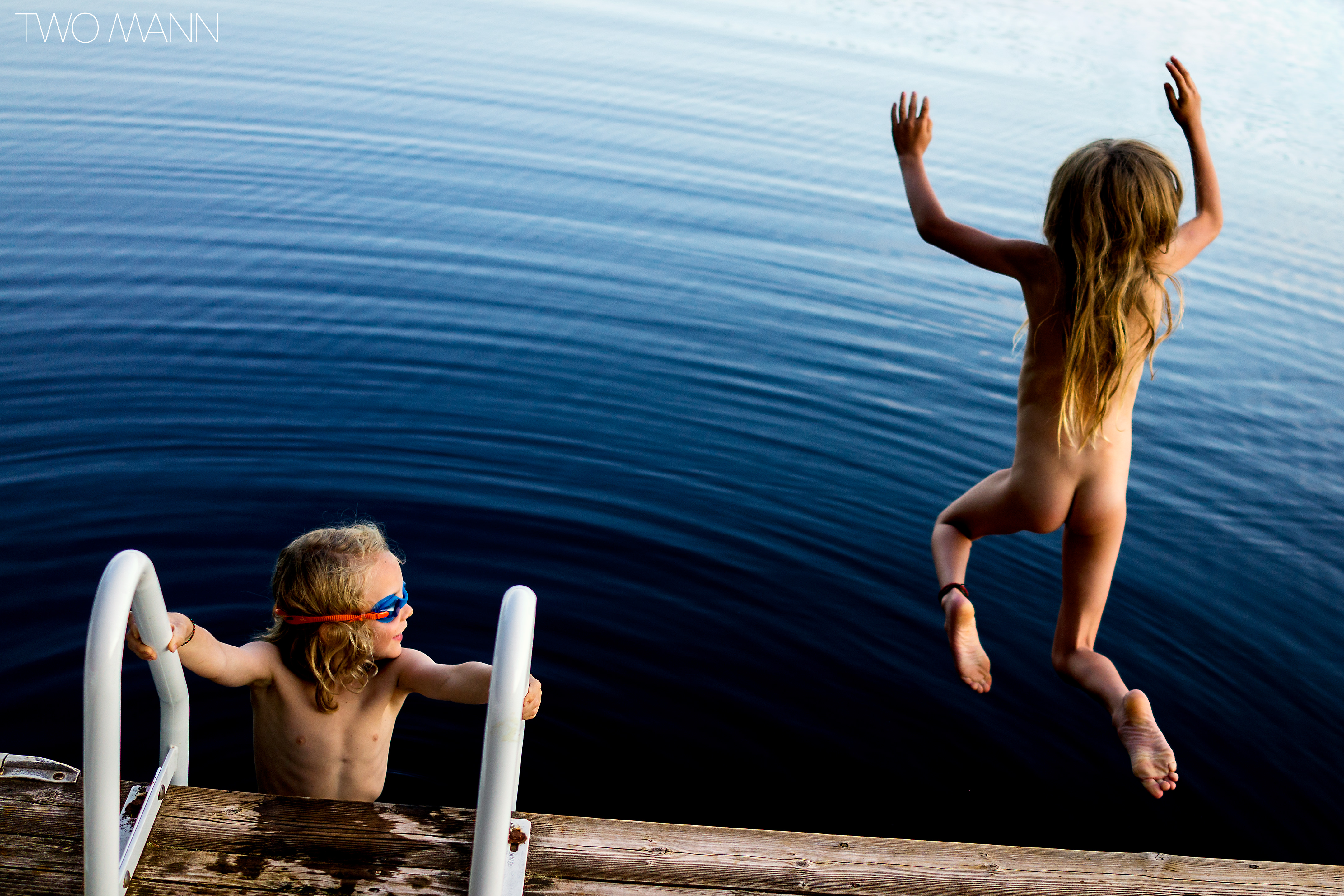 Skinny dipping families