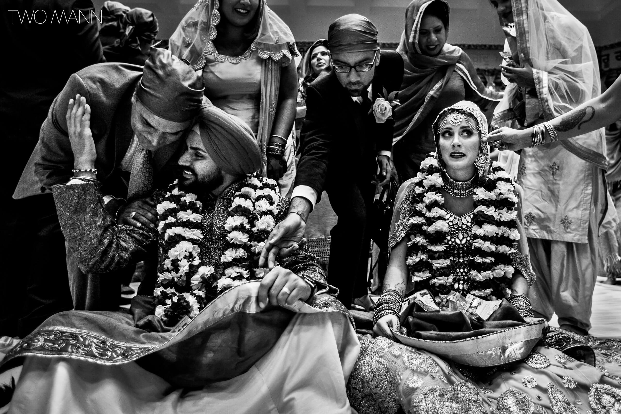 a glance at an Indian Sikh wedding ceremony