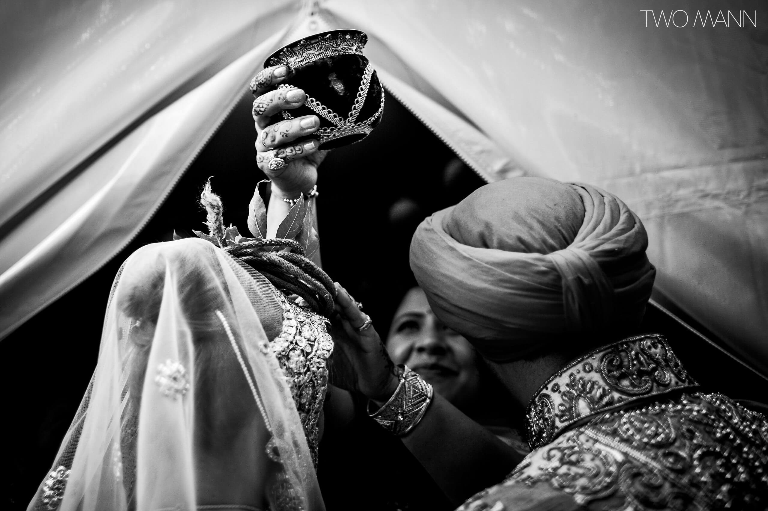 blessings to an indian bride