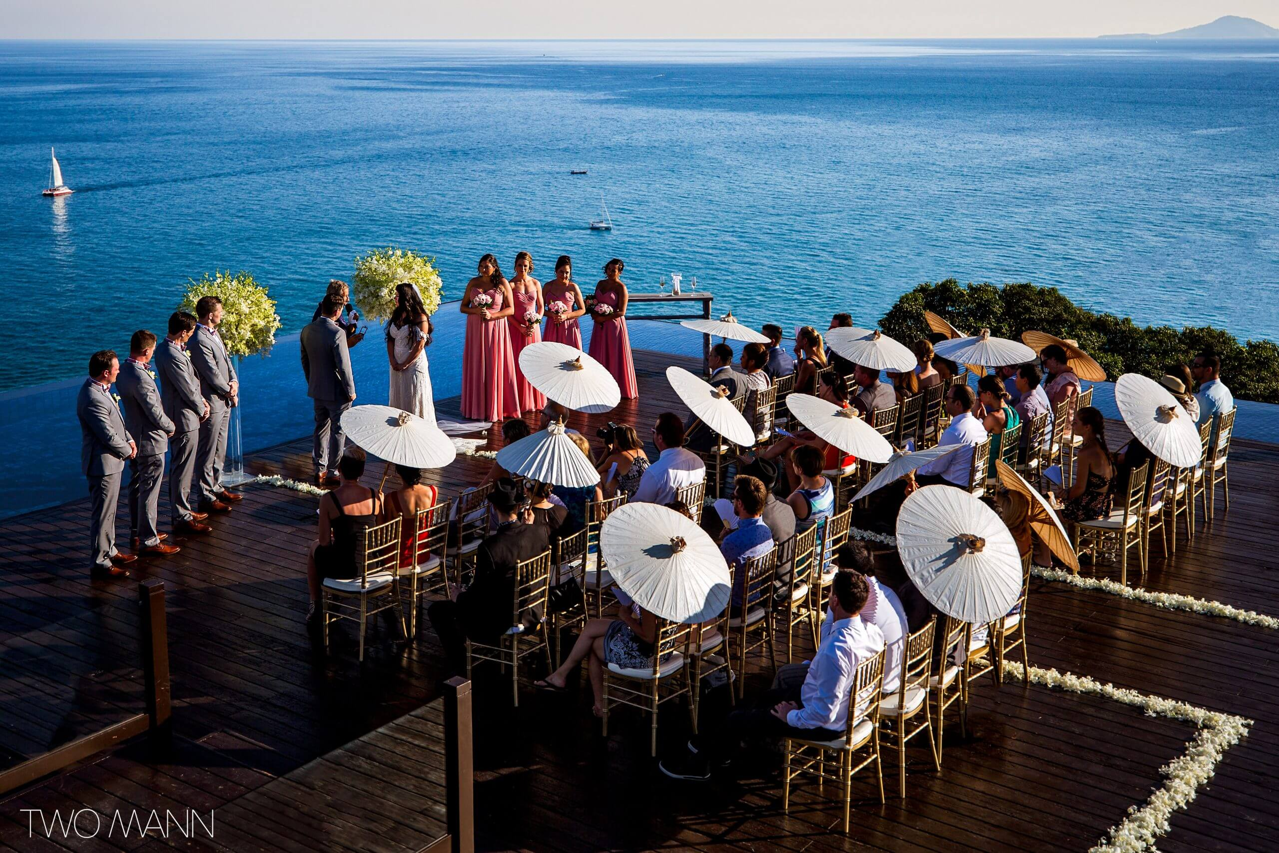 wedding ceremony at Sri Panwa Resort, Phuket